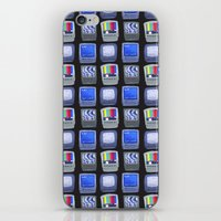TV Pattern iPhone & iPod Skin