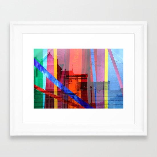 Distortion 3 Framed Art Print