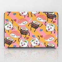 Sushi dance iPad Case