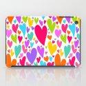 Cute colorful heart iPad Case