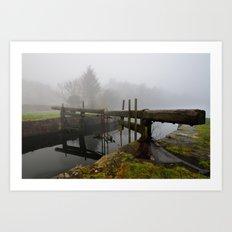 Ulverston Canal Art Print