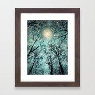 Nature Blazes Before You… Framed Art Print