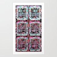 Scrambled Art Print