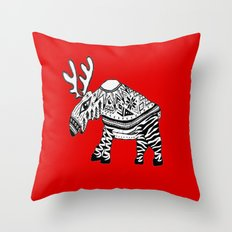 You're wearing a sweater! Throw Pillow