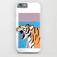 Tiger Yawn iPhone 6 Slim Case