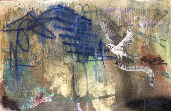 the early bird. Art Print