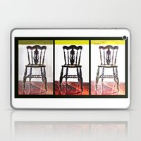 Chair Trio Laptop & iPad Skin
