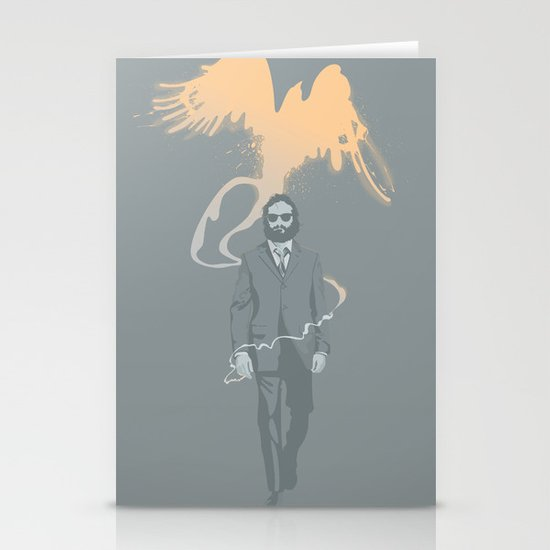 Out of the ashes arose a Phoenix Stationery Card