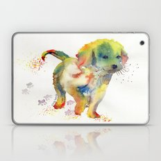 Colorful Puppy - Little Friend Laptop & iPad Skin