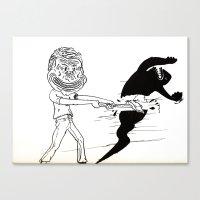 Break Yourself Down Canvas Print