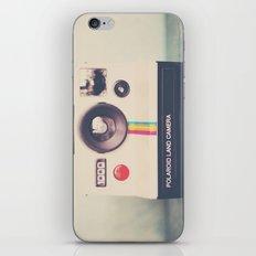 portrait of a polaroid ...  iPhone & iPod Skin