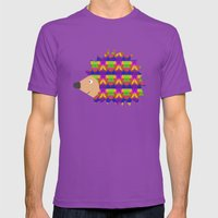 Hedgehog Mens Fitted Tee Ultraviolet SMALL