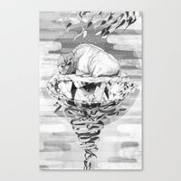 Young Treasure Canvas Print