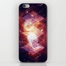 Shining Nebula - Red iPhone & iPod Skin