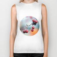 Fall Berries Biker Tank
