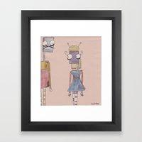 bot love. Framed Art Print