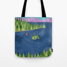Around the lake  Tote Bag