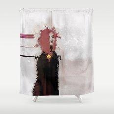 With Regards; Elaboratio… Shower Curtain