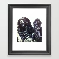 The  Virgin Zombie Framed Art Print