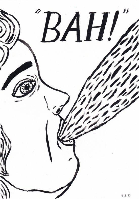 """"""" BAH ! """" Art Print"""