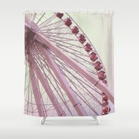 Farris Wheel Shower Curtain