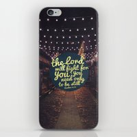 FIGHT FOR YOU iPhone & iPod Skin