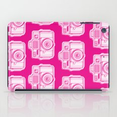 I Still Shoot Film Holga Logo - Reversed Pink iPad Case
