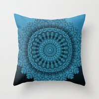 Mandala for the Masses Throw Pillow
