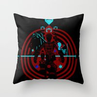 Tron Throw Pillow