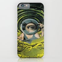 iPhone & iPod Case featuring Close Inspection by Humdrum Jetset