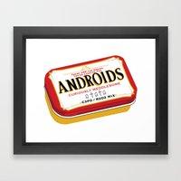 Androids Framed Art Print