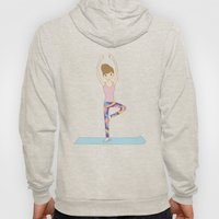 Yoga Girl In Tree Pose I… Hoody