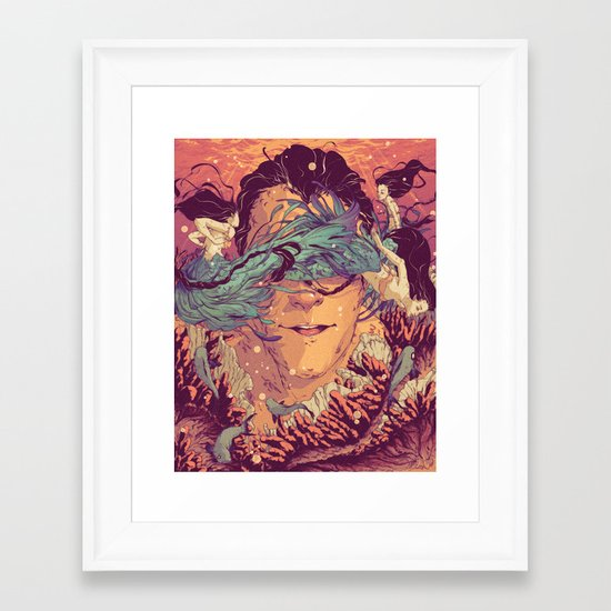 Legacy Lost Framed Art Print