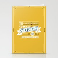 Philippians 4:13 Stationery Cards