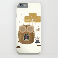 iPhone & iPod Case featuring My Owl and Me by Liam Smith