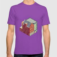 Home Mens Fitted Tee Ultraviolet SMALL