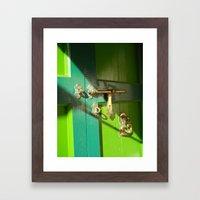 A Door To Heaven Framed Art Print