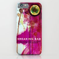 breaking bad iPhone & iPod Cases featuring BREAKING BAD by Michael Scott Murphy