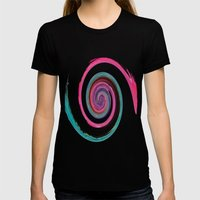 June  Womens Fitted Tee Black SMALL