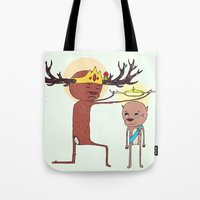 He Will Rule From Sea To… Tote Bag