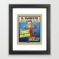 Artie! Framed Art Print
