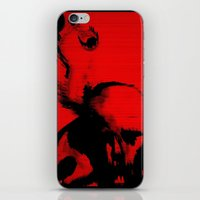 Parasite Oddity (Red Mix… iPhone & iPod Skin