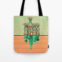 Pineapple architecture  Tote Bag
