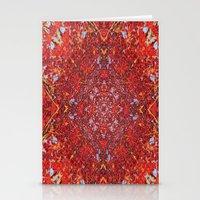 Internal Kaleidoscopic Daze-2 Stationery Cards