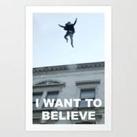 I Want To Believe In She… Art Print