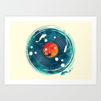 Sound of Water Art Print
