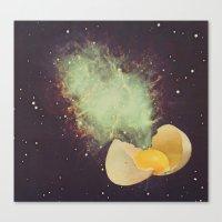 Big Bang Breakfast Canvas Print