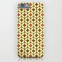 Repeated Retro - Brown iPhone 6 Slim Case
