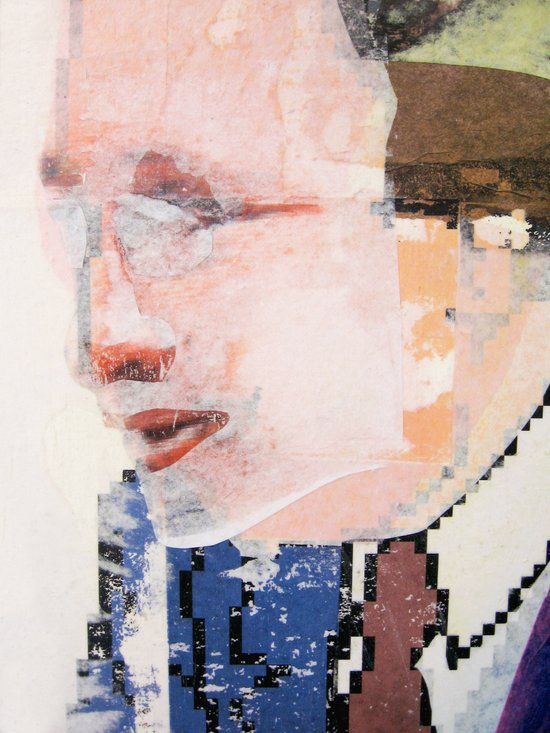 Negotiators (detail) Art Print