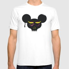 rat poison White SMALL Mens Fitted Tee
